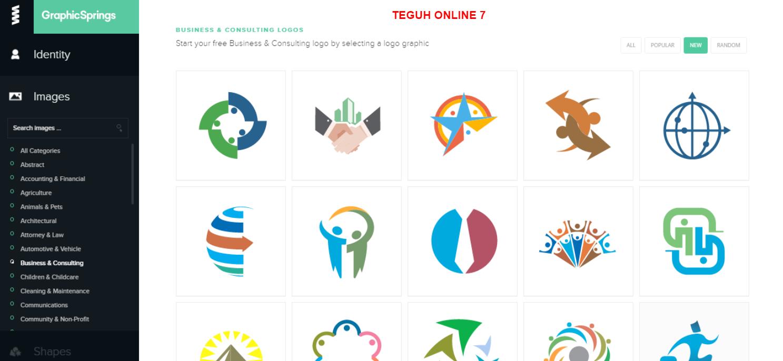 Cara Membuat Logo Online Secara Gratis Central E991