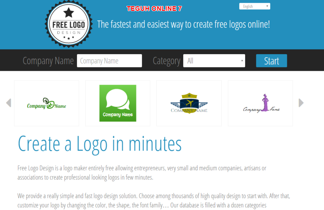 7 situs cara membuat logo keren online gratis untuk website for Blueprint creator online free