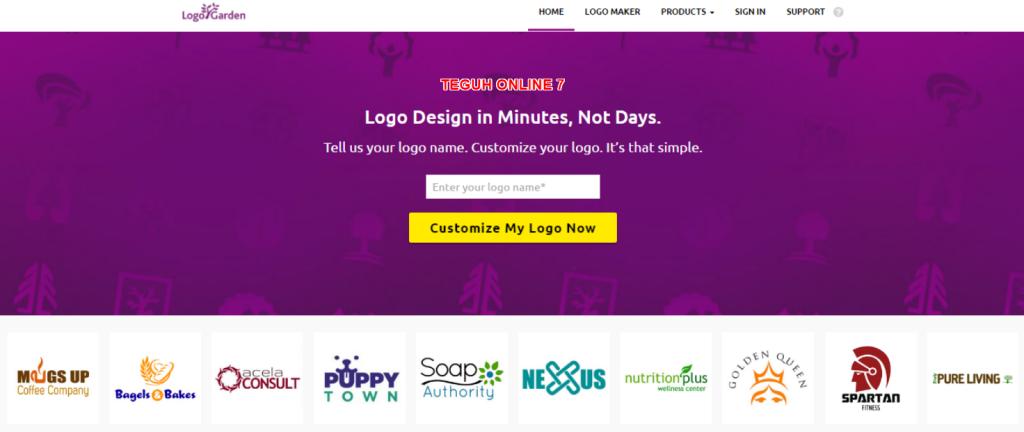 Free Logo Maker Custom Logo Design LogoGarden