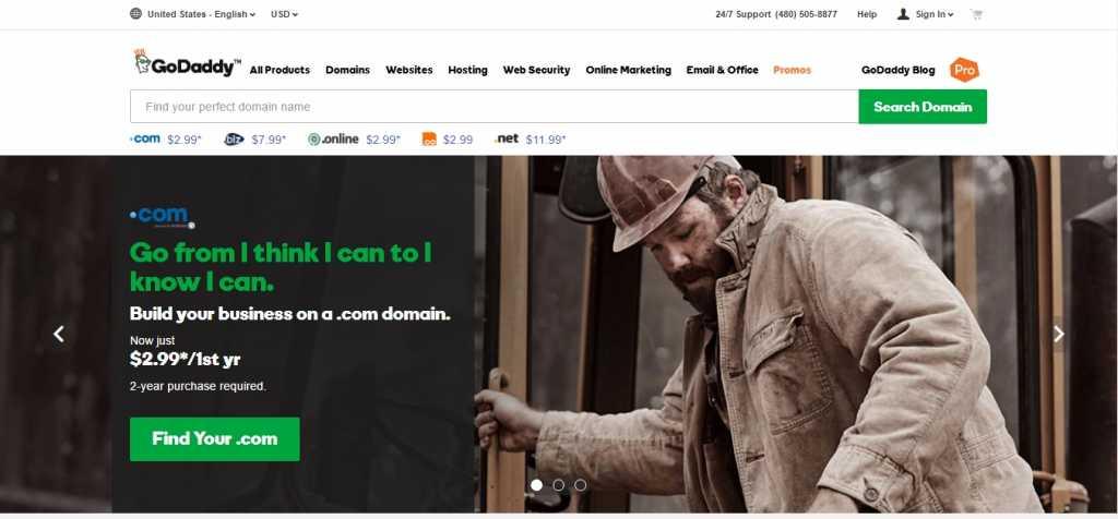 Godaddy web hosting untuk wordpress murah