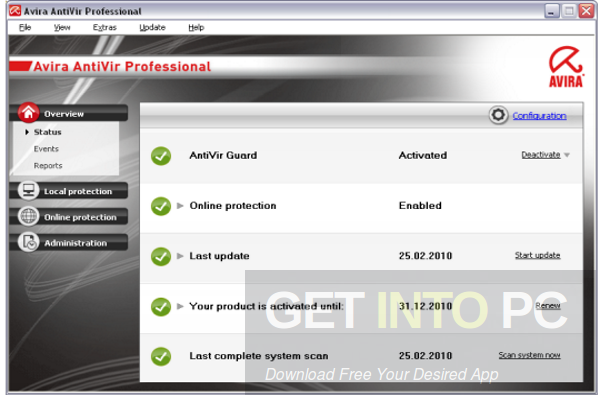 Download Gratis Avira Antivirus Pro 15.0.27.48 Final Full Key