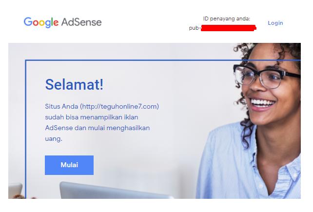 Cara Daftar Google Adsense Untuk Pemula 100% Diterima